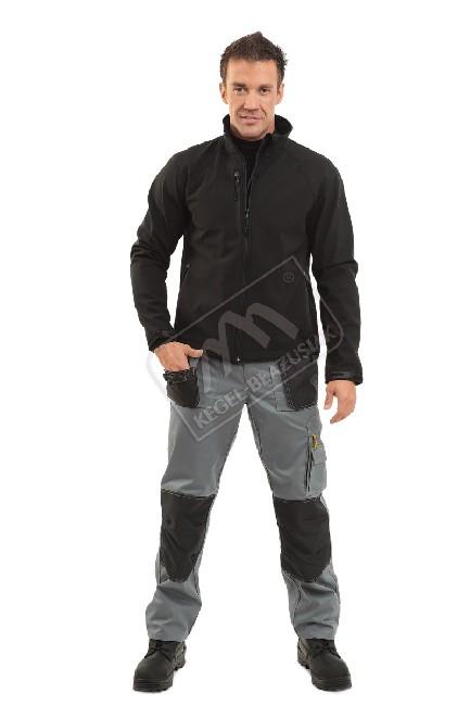 Kurtka soft shell – chroni przed wiatrem i deszczem.