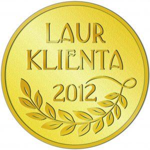 Złoty Laur Klienta 2012 dla pokrowców samochodowych KEGEL-BŁAŻUSIAK!