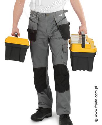 Spodnie robocze do pasa – odzież robocza
