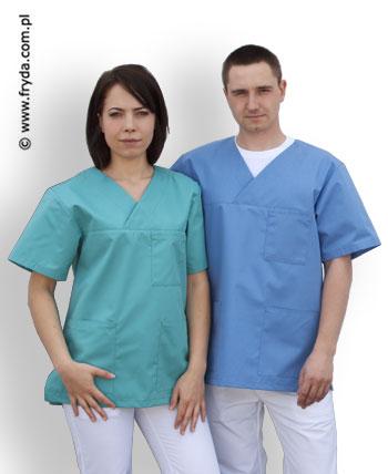 Bluza medyczna w serek – NOWOŚĆ