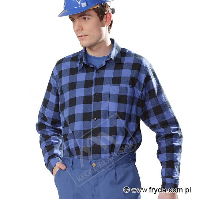 Koszule flanelowe w kratkę – idealne do pracy!