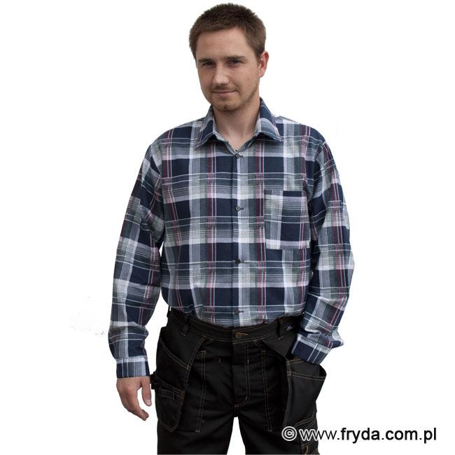 Koszula flanelowa szara