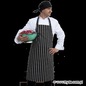 Fartuch gastronomiczny w białe pasy – NOWOŚĆ