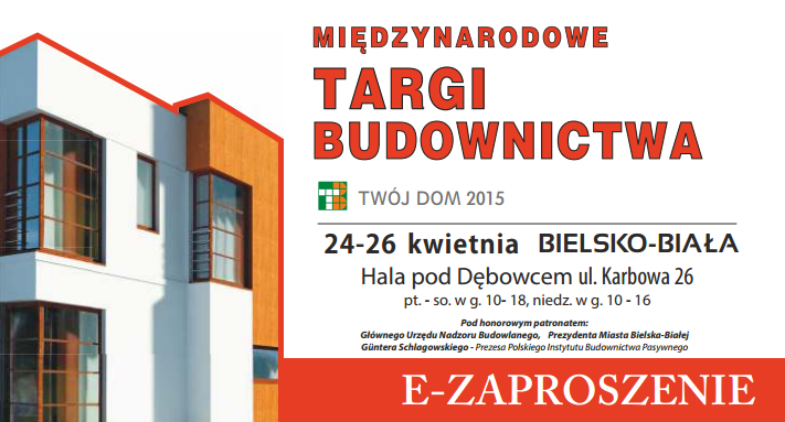 47 Międzynarodowe Targi Budownictwa Bielsko-Biała