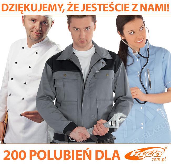 Odzież robocza na facebooku